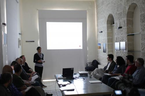 Students present their recommendations to the Foundation in Ramallah'